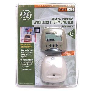 GE5805WS1-D GE Outdoor/Indoor Wireless Thermometer